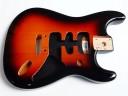 Fender Stratocaster Deluxe Guitar Body Sunburst 0997103700