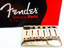Fender Stratocaster American Standard Hardtail Guitar Bridge Gold 0036808000