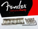 Fender Stratocaster Vintage Bridge Saddles Set 0992051000