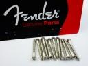 Fender Tremolo Mounting Screws Chrome 0016170049