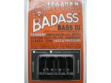 Leo Quan Badass Bass III Bridge Black