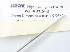 Jescar FL47104-S Fretwire Stainless Steel