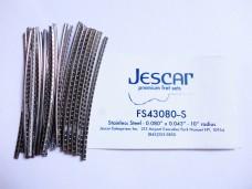 Jescar FS43080-S Fretwire Stainless Steel