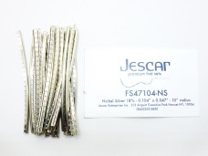Jescar FS47104-NS Fretwire Nickel Silver