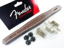 Fender Tweed Amplifier Handle Brown Leather 0036129049