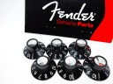 Fender Pure Vintage Skirted Amplifier Knobs Black 0990930000