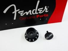 Fender Stratocaster S-1 Knob Set Black 0059267029