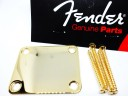Fender Plain Neck Plate Gold 0991447200