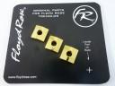 Floyd Rose Original Nut Clamping Blocks Gold FRNCBGP