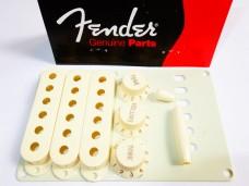 Fender Stratocaster Accessory Kit Aged White 0991368000