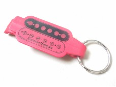 Seymour Duncan Keychain Bottle Opener Red