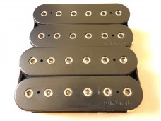 Dimarzio Fusion Edge IHW Guitar Pickup Set Black