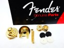 Fender Schaller Strap Locks Gold 0022043049