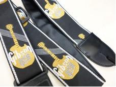 Gibson ASGG-900 Woven Guitar Strap Gold
