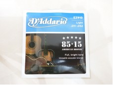 D'Addario EZ910 American Bronze Light