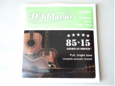 D'Addario EZ920 American Bronze Medium Light
