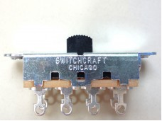 Switchcraft Slide Switch 3-Way Black